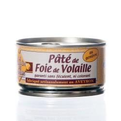 """Pâté de foie de volaille au genièvre 130g """"Pélérin des saveurs"""""""