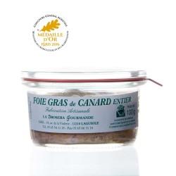"""Foie gras de canard entier 100g """"drosera"""""""