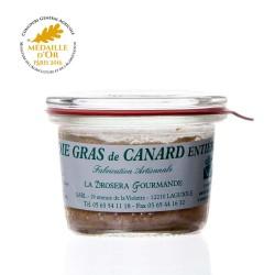"""Foie gras de canard entier 50g """"drosera"""""""