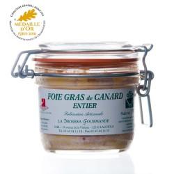 """Foie gras de canard entier 190g  """"drosera"""""""