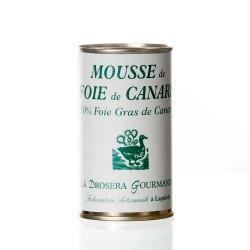 "Mousse de foie gras de canard 50% 200g ""drosera"""