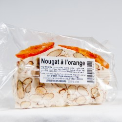Tarte de nougat à l'orange 110g