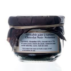 Pate à tartiner chocolat noir / noisettes 200g