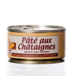"""Pâté aux châtaignes 130g """"Pélérin des saveurs"""""""
