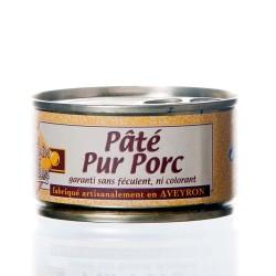 """Pâté Pur Porc 130g """"Pélérin des saveurs"""""""