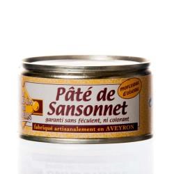"""Pâté de sansonnets 130g """"Pélérin des saveurs"""""""