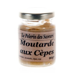 Moutarde aux cèpes 90 g