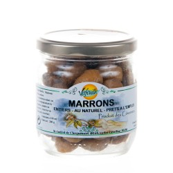 Bocal de Marrons au Naturel 240g