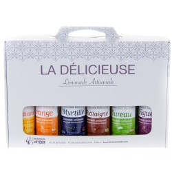 Coffret 6 limonades 27.5cl