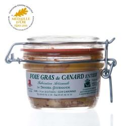 """Foie gras de canard entier 150G """"drosera"""""""