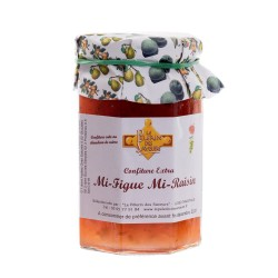 confiture mi-figue mi- raisin 370g