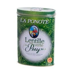 Lentilles du Puy boîte fer 500g
