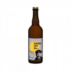 Bière occitane sabetz que lèu 75cl