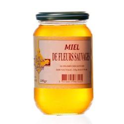 Miel de fleurs sauvages 500g