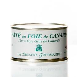 """Pâté au foie de canard  (20 %) 190g """"drosera"""""""