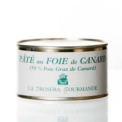 """Pâté au foie de canard  (50 %) 190g """"drosera"""""""