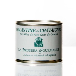 "Galantine de châtaigne 190g  ""Drosera"""