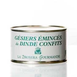 "Gésiers émincés de dinde 190g ""drosera"""