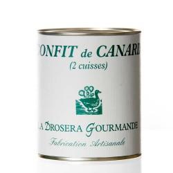 """Confit de canard 2 cuisses """"Drosera"""""""