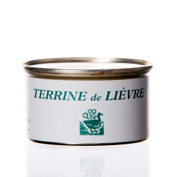 """Terrine lièvre 130g  """"drosera"""""""