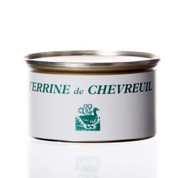 "Terrine de chevreuil 130g  ""drosera"""