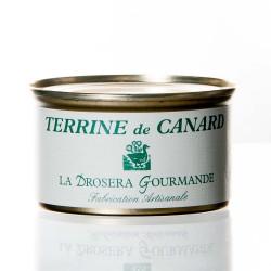 """Terrine de canard 130g  """"drosera"""""""