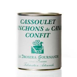 """Cassoulet au magret de canard confit 840g """"drosera"""""""