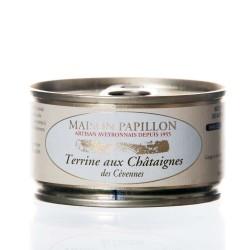 """Terrine aux châtaignes 130g """"maison papillon"""""""