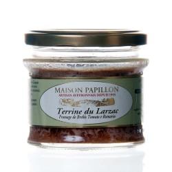 "Verrine brebis du larzac et basilic 160g ""papillon"""