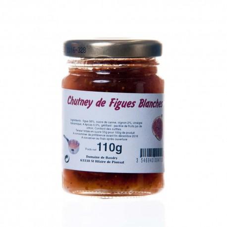 Chutney de figue blanche 110g